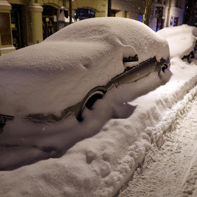 Snježna oluja u Njemačkoj