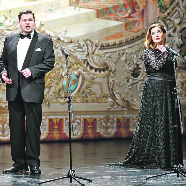 Tomislav Mužek i Valentina FIjačko