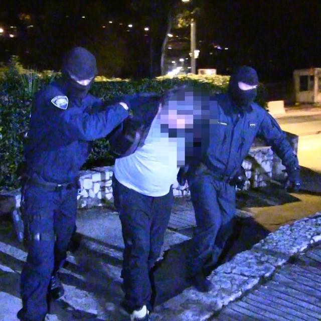 Uhićenje krijumčara kokaina