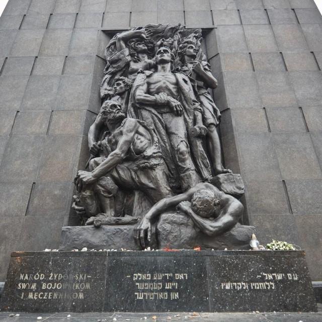 Spomenik žrtvama varšavskog geta