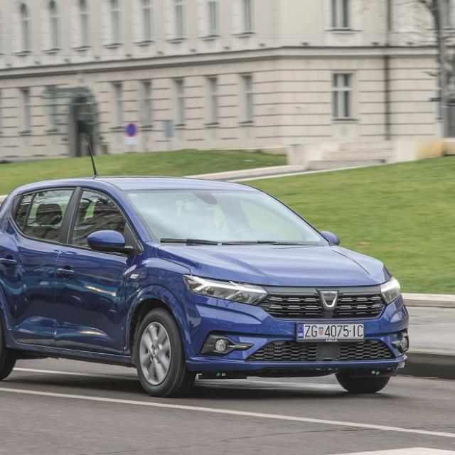 Dacia Sandero, test