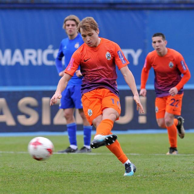 Lovro Majer bio je dvostruki strijelac za Lokomotivu protiv Dinama u ožujku 2018.