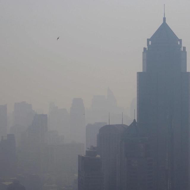 Zagađenje zraka u Bangoku / Ilustracija