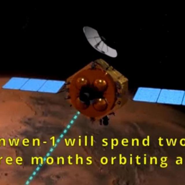 Tianwen-1 u Marsovoj orbiti