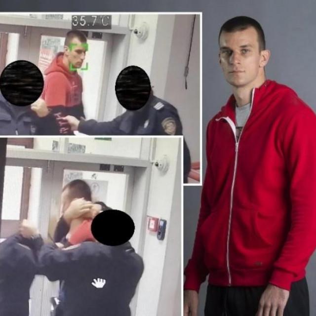 Ante Radan: na ulazu u Sud je postavljena termalna kamera koja je mladiću izmjerila 35.7 stupnjeva