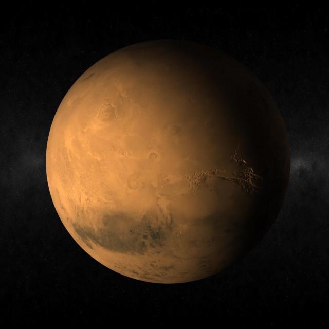 Ilustracija, Mars
