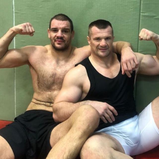 Ante Delija i Mirko Filipović