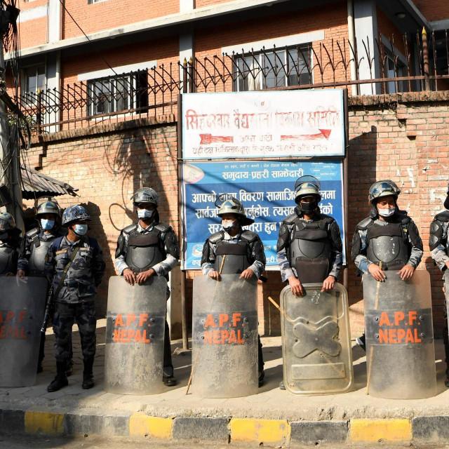 Prosvjedi u Katmanduu