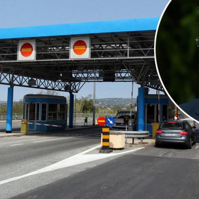 Ilustracija: Granični prijelaz Buje u Istri i ministar Aleš Hojs