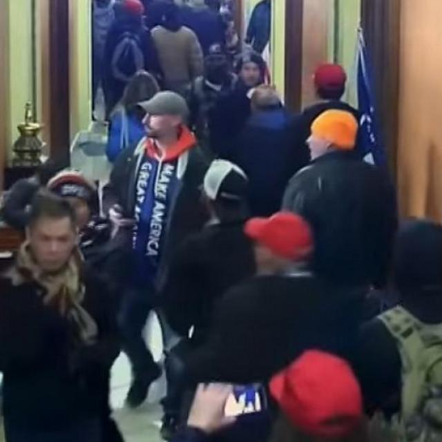 Prizor iz napada na Kapitol