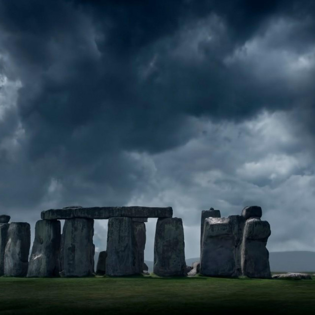 Stonehenge, arhivska fotografija