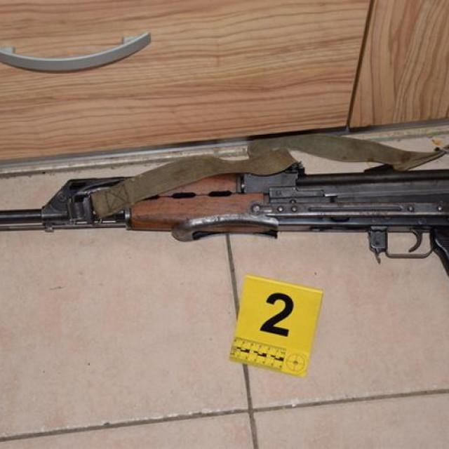Oružje koje je policija zaplijenila