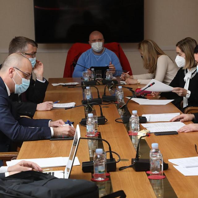 Konstituirajuća sjednica Nacionalnog vijeća za praćenje provedbe Strategije suzbijanje korupcije