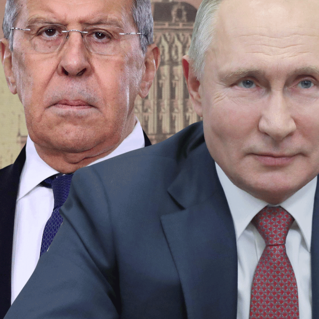 Sergej Lavrov, Vladimir Putin, Dmitrij Peskov