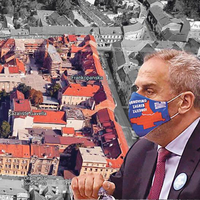 Blok omeđen Ilicom, Frankopanskom, Dalmatinskom i Medulićevom ulicom trebao bi biti konkretizacija rješenja koje se planira za Donji i Gornji grad te Kaptol