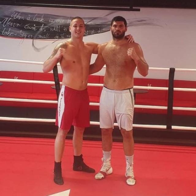 Dušan Veletić i Filip Hrgović