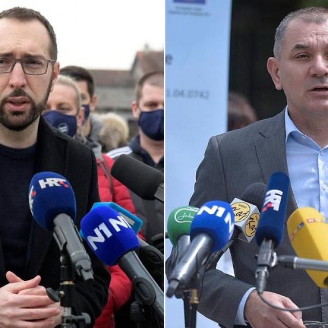 Tomislav Tomašević, Ivica Lovrić