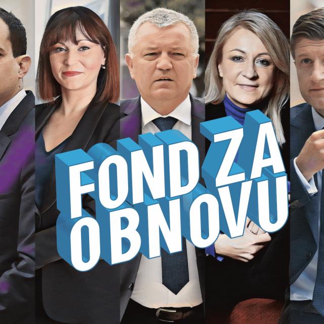 Damir Vanđelić, Ivan Malenica, Nataša Tramišak, Darko Horvat, Sanja Jerković Zdravko Marić i Milan Bandić
