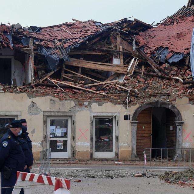 Ilustracija / potres u Petrinji