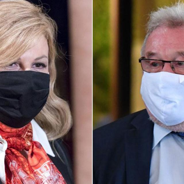 Kolinda Grabar Kitarović i Vladimir Šeks