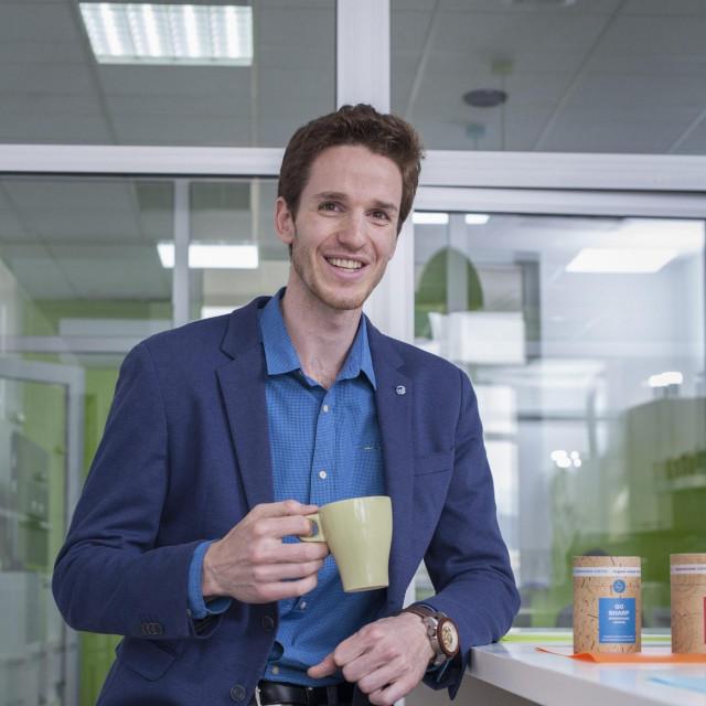 Stipe Režić, tvorac startupa Mushroom Coffee, instan organske kave s gljivama