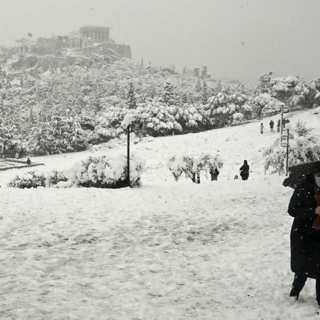 Brdo Pnyx u Ateni<br />