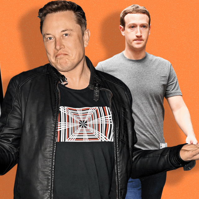 Elon Musk, Mark Zuckerberg