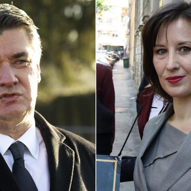 Zoran Milanović i Dalija Orešković