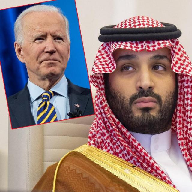 Joe Biden i Muhamed bin Salman