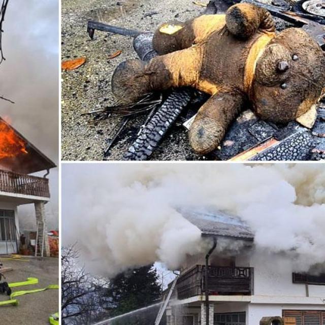 Požar u kući u Dankovcu