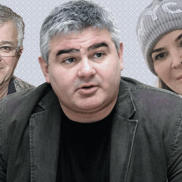 Branko Petanjek, Mihael Kovačić i Iva Petanjek
