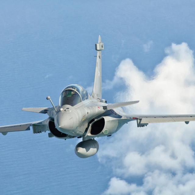 Francuski Dassault Rafale u letu