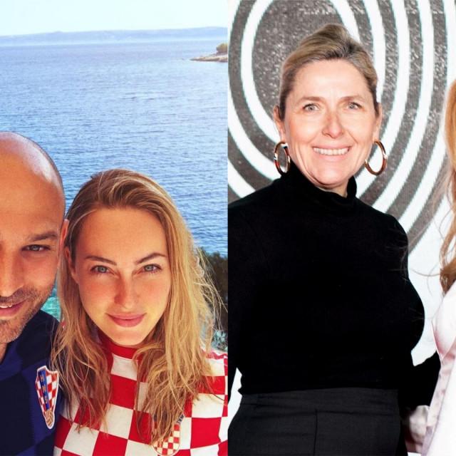 Davor i Cristel Carrisi Lukšić te Sanja i Ella Orešković