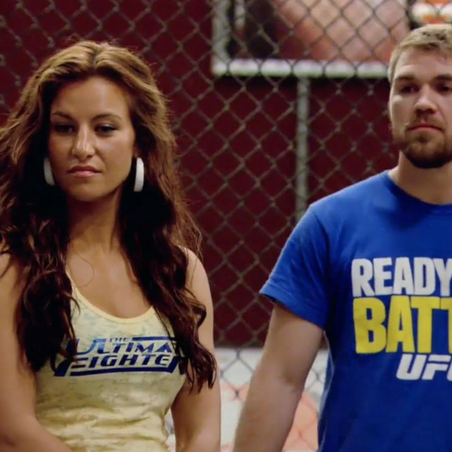 Miesha Tate i Bryan Caraway