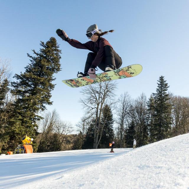 Nikolina Miseta - snowboarderica.<br />