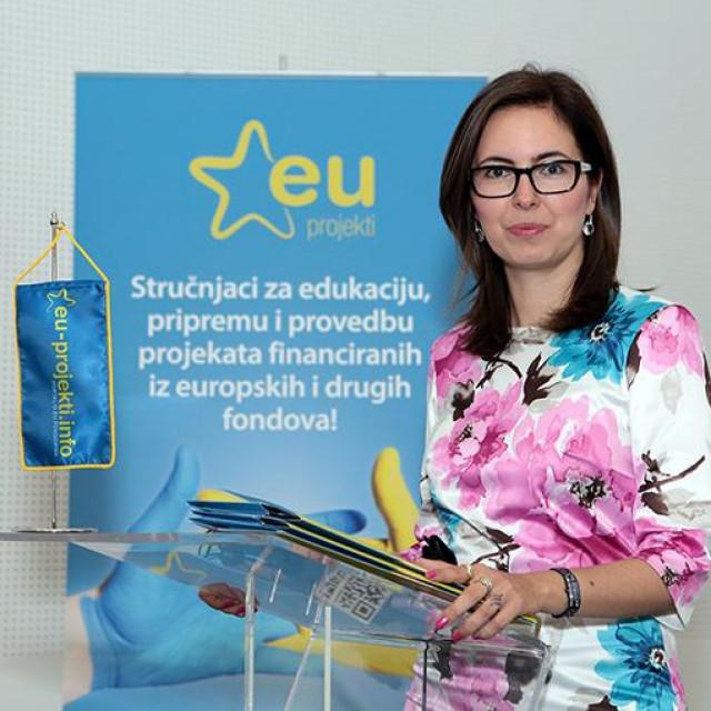 Savjetnica za fondove EU i direktorca trgovačkog društva AVELANT d.o.o. Ariana Vela