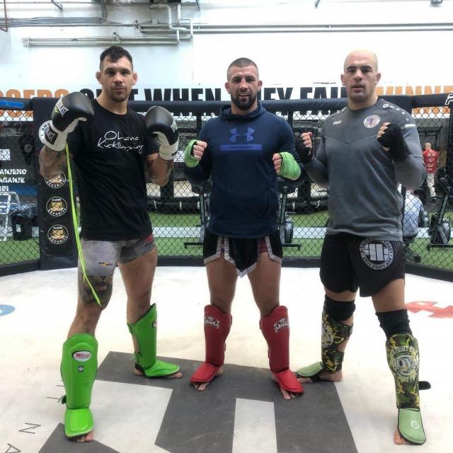 Aleksandar Rakić, Mladen Kujundžić i Ivan Erslan