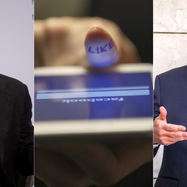 Mark Zuckerberg (L); Scott Morrison (D)