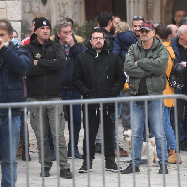 Prosvjed stožera za obranu Brodotrogira<br />