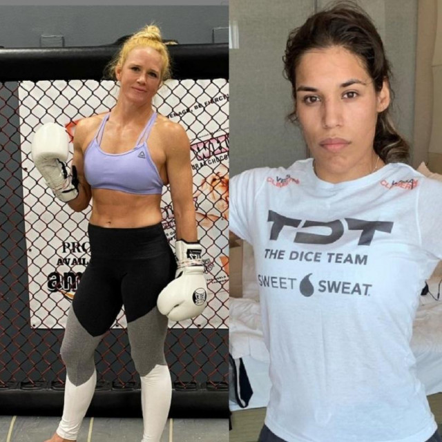 Holly Holm i Julianna Pena