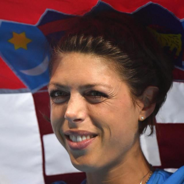 Blanka Vlašić u Rio de Janeiru 2016. godine nakon osvajanja brončane medalje