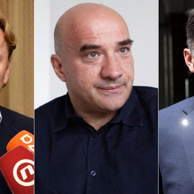 Ivan Đikić, Gordan Lauc i Dragan Primorac