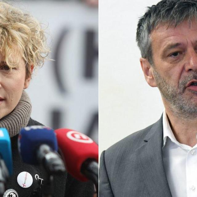 Ivana Kekin i Davor Huić