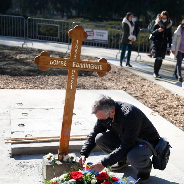 Đorđe Balašević pokopan je u nedjelju u Novom Sadu