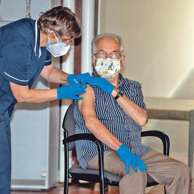 Cijepljenje u Varaždinu, ilustracija