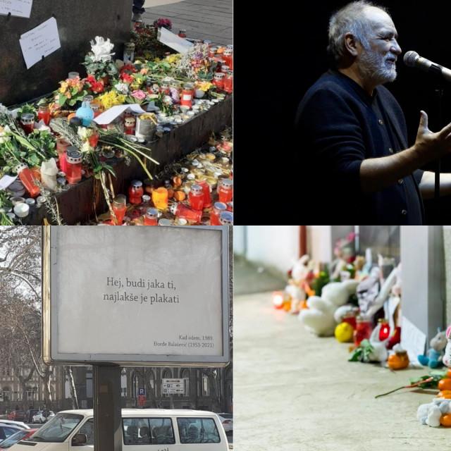 Novi Sad se oprašta od Balaševića