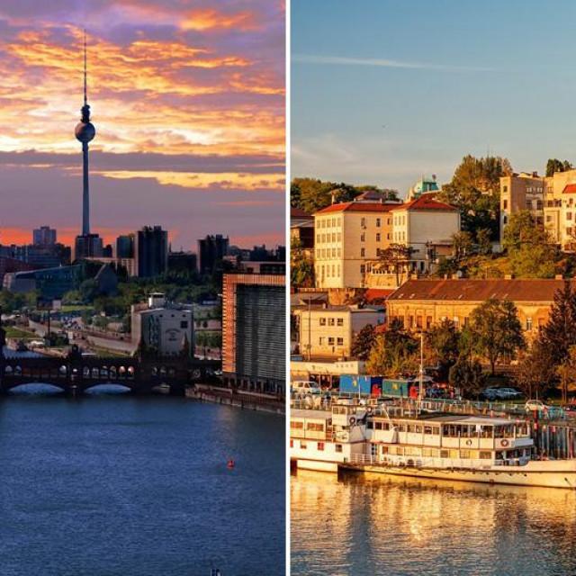 Berlin i Beograd, ilustracija