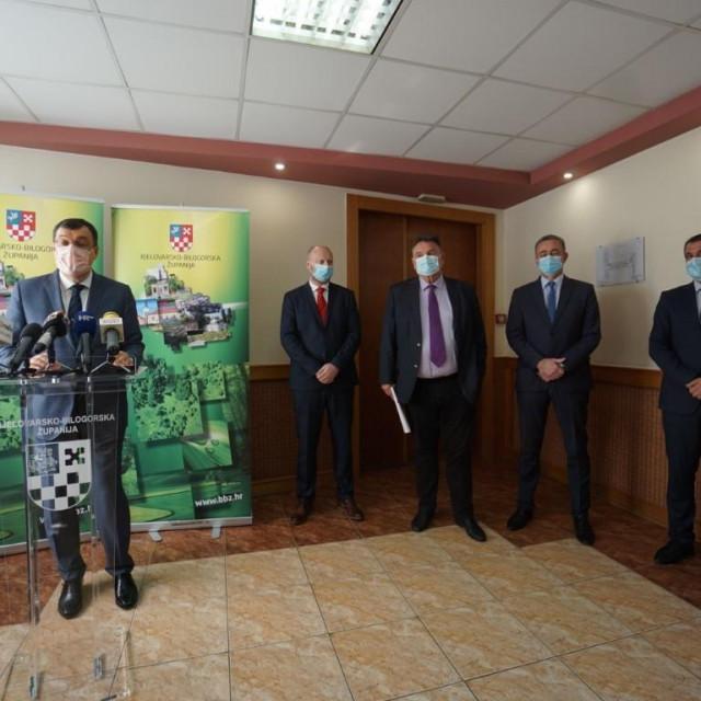 Damir Bajs, Željko Kolar, Radimir Čačić, Darko Koren i Matija Posavec