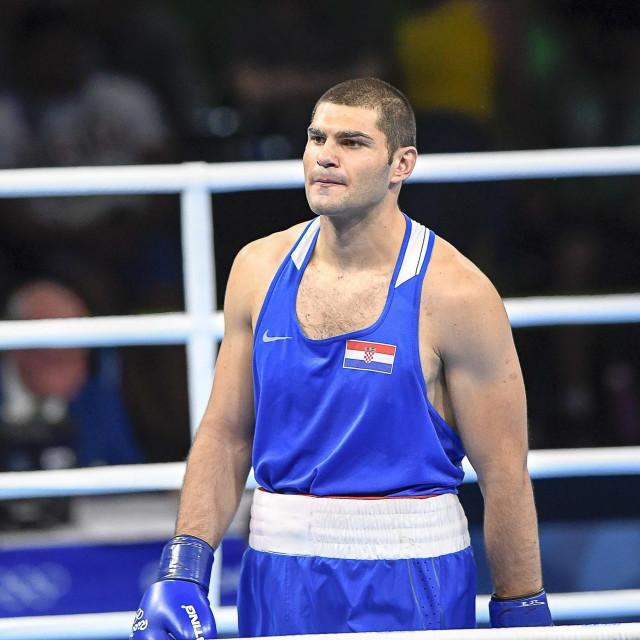 Filip Hrgović, polufinale Olimpijskih igara 2016. godine