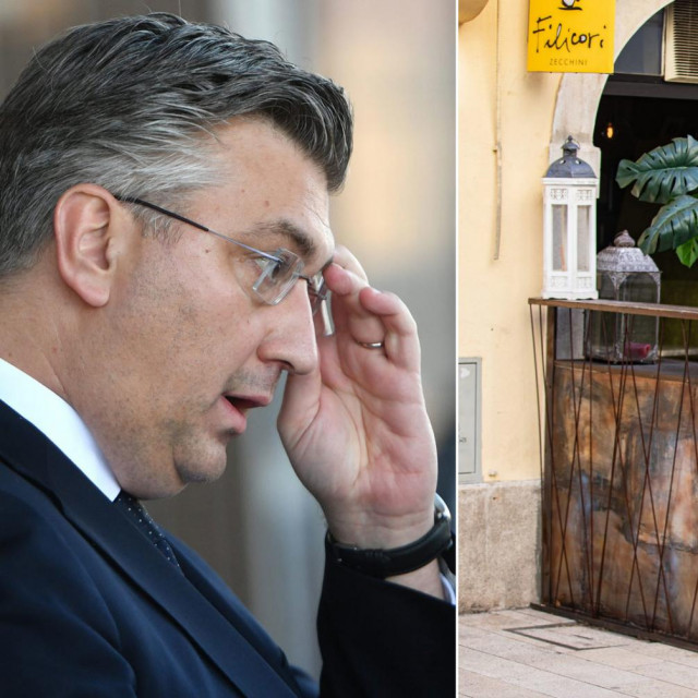 Plenković i kafić 'Three monkeys'